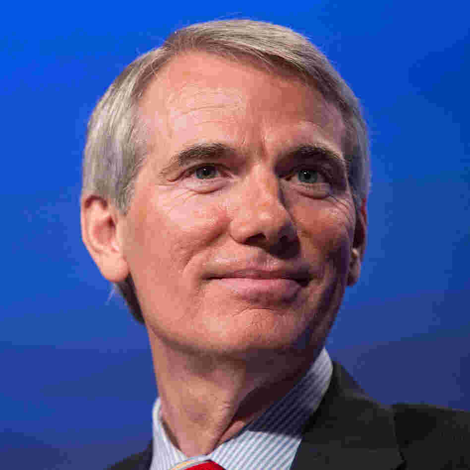 Sen. Rob Portman, R-Ohio, attends the 2012 Fiscal Summit on May 15 in Washington, D.C.