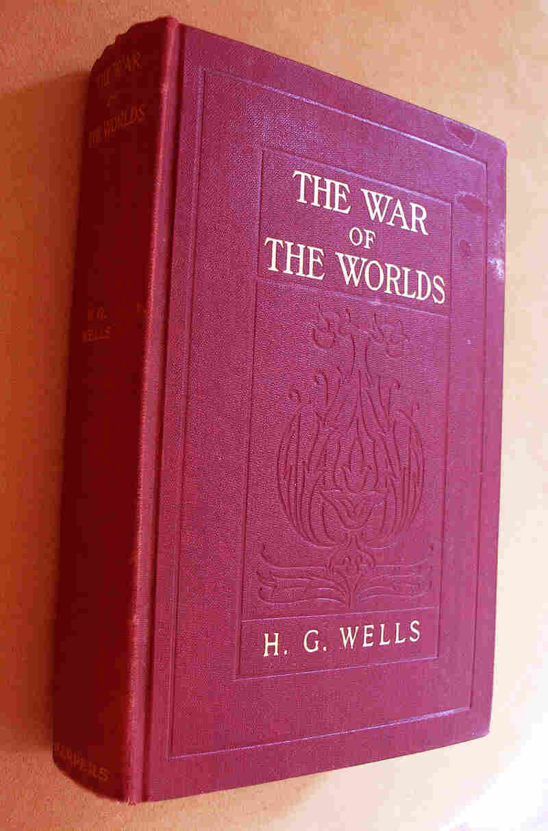Rocket scientist Robert Goddard's Uncle Spud gave him this copy of The War of the Worlds in 1898. More than a hundred years later, it passed into the hands of essayist Amanda Katz.