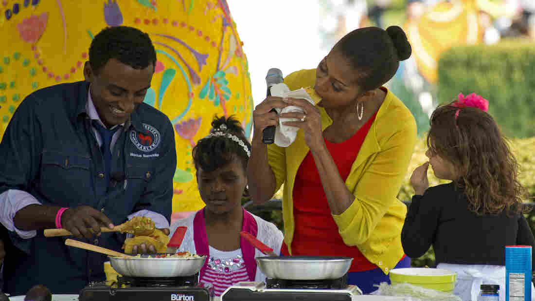Top Chef winner Marcus Samuelsson has cooked for luminaries such as First Lady Michelle Obama.