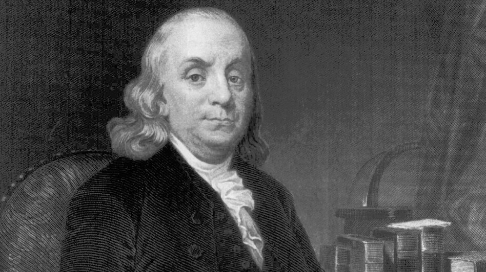 Benjamin Franklin once gave mouth-to-mouth (or, mouth-to-beak?) to a hen after electrically shocking it. According to science historian Alex Boese, it was the first known resuscitation of an electric shock victim using the mouth-to-mouth method. (AP)