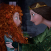Brave's Princess Merida, like any teenager, clashes with her mother, Queen Elinor.