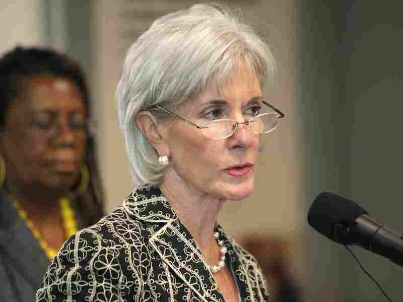 Secretary of the U.S. Department of Health and Human Services Kathleen Sebelius speaks about the Affordable Care Act at Covenant Community Care health center June 20 in Detroit, Mich. The law and her department have come under heavy criticism for a mandate that would require insurance companies of religious organizations to cover contraceptives.