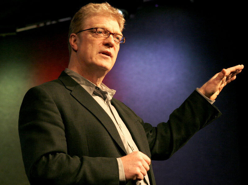 """There's a terrible tendency to confuse raising standards with standardizing."" — Sir Ken Robinson"