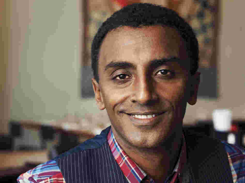 Marcus Samuelsson is the proprietor of Harlem's Red Rooster restaurant.