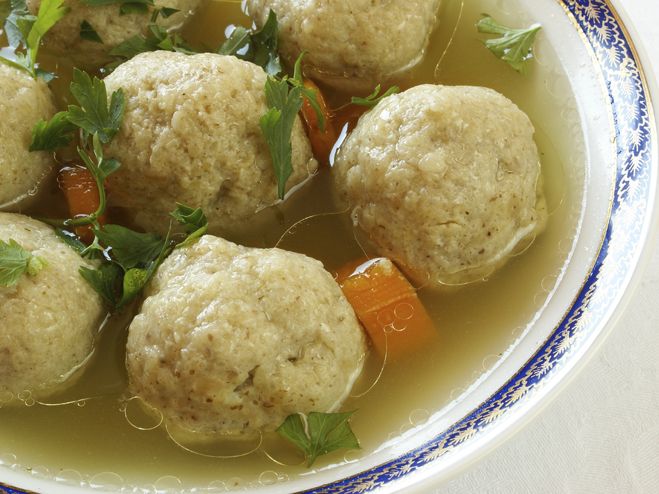This matzo ball soup may be kosher, but that doesn't necessarily mean it's better for you.