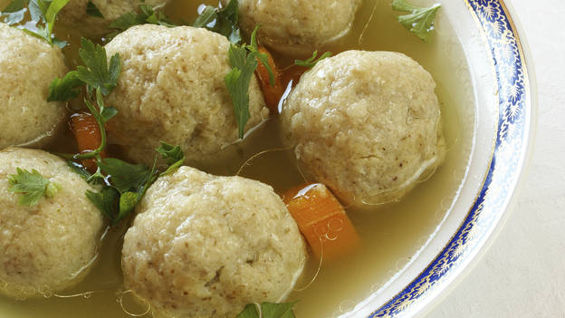 This matzo ball soup may be kosher, but that doesn't necessarily mean it's better for you. (iStockphoto.com)