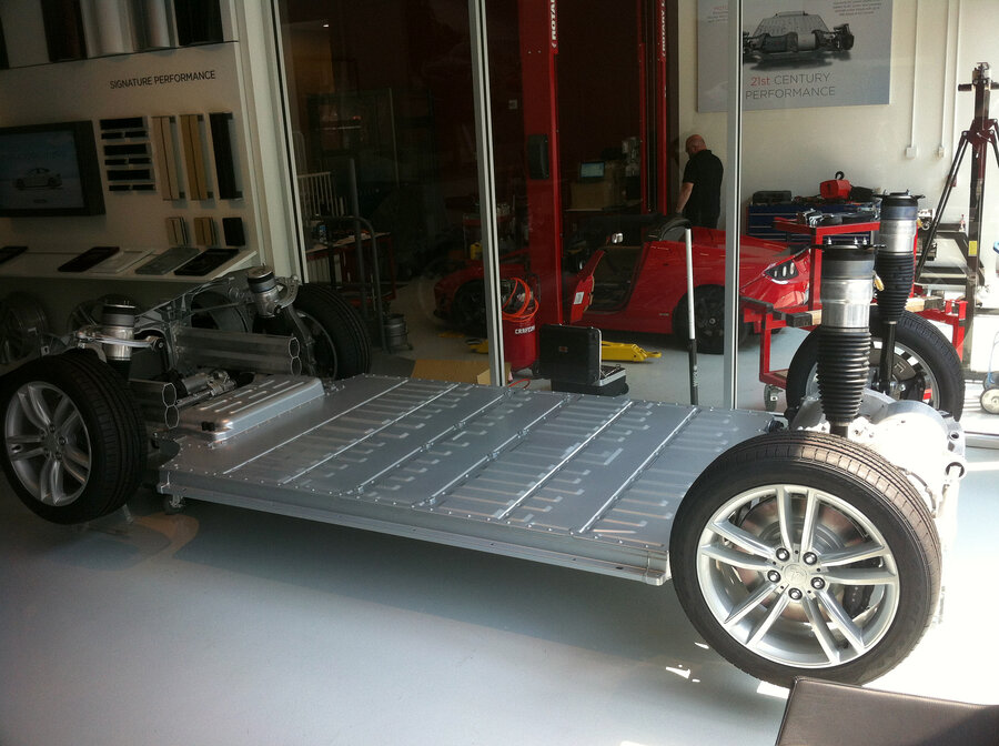 Tesla\'s Model S Electric Sedan: Five Passengers, 89 MPG, And No ...