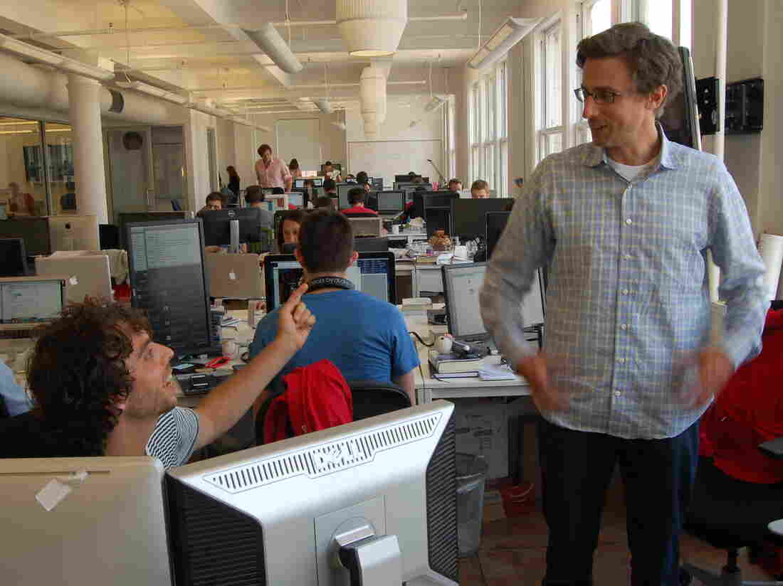 Matt Stopera (left) and Jonah Peretti (right)