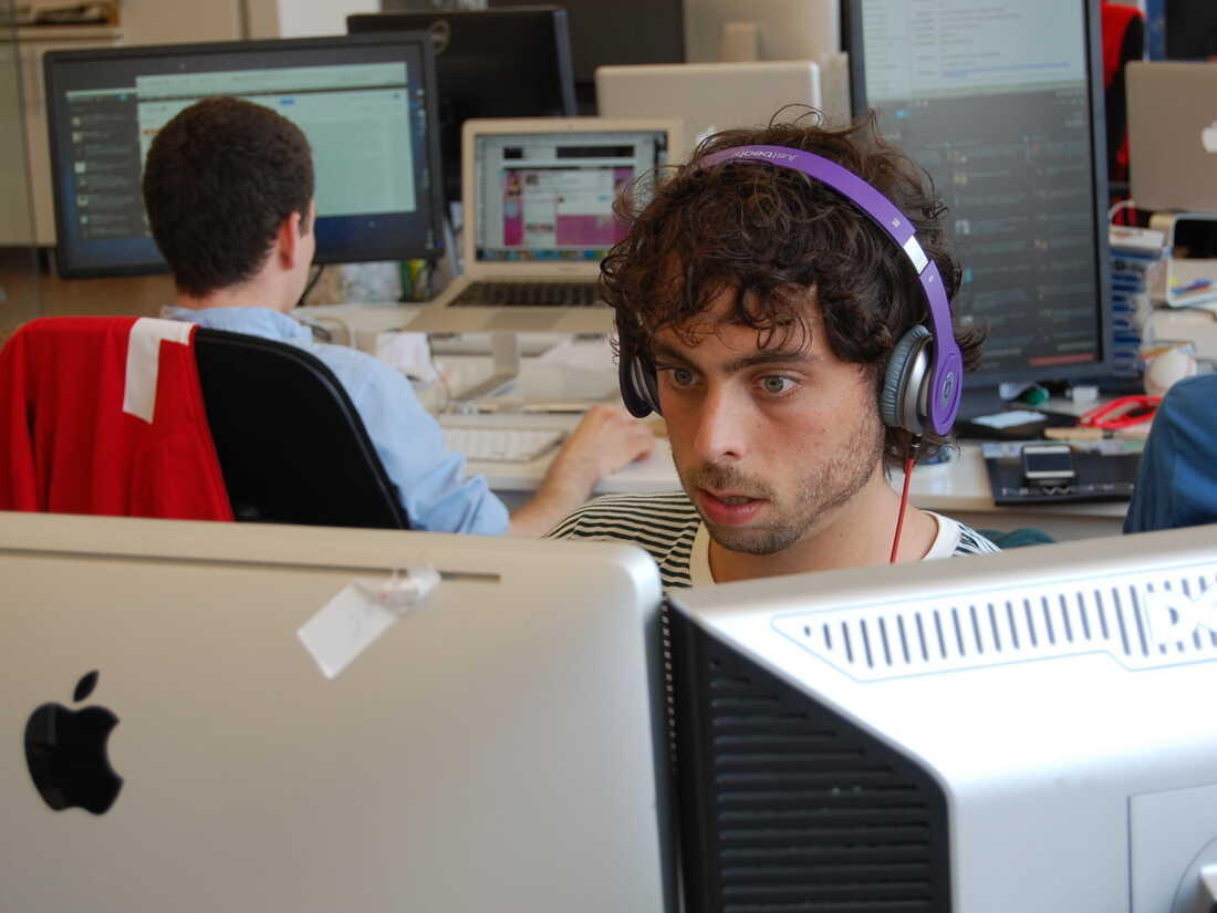Matt Stopera, a senior editor at BuzzFeed combs the Internet for potentially viral content.