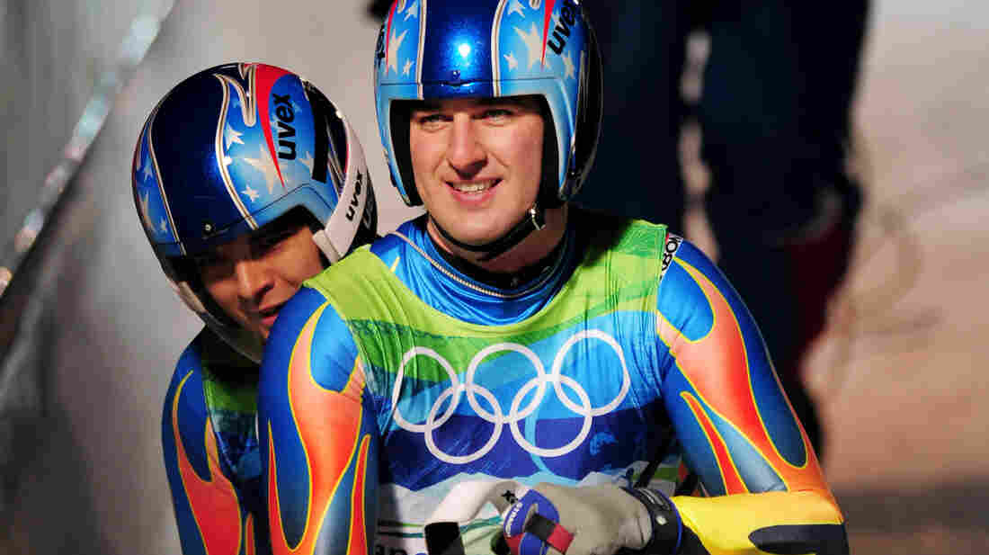 Christian Niccum and Dan Joye at the 2010 Winter Olympics in Whistler, Canada.