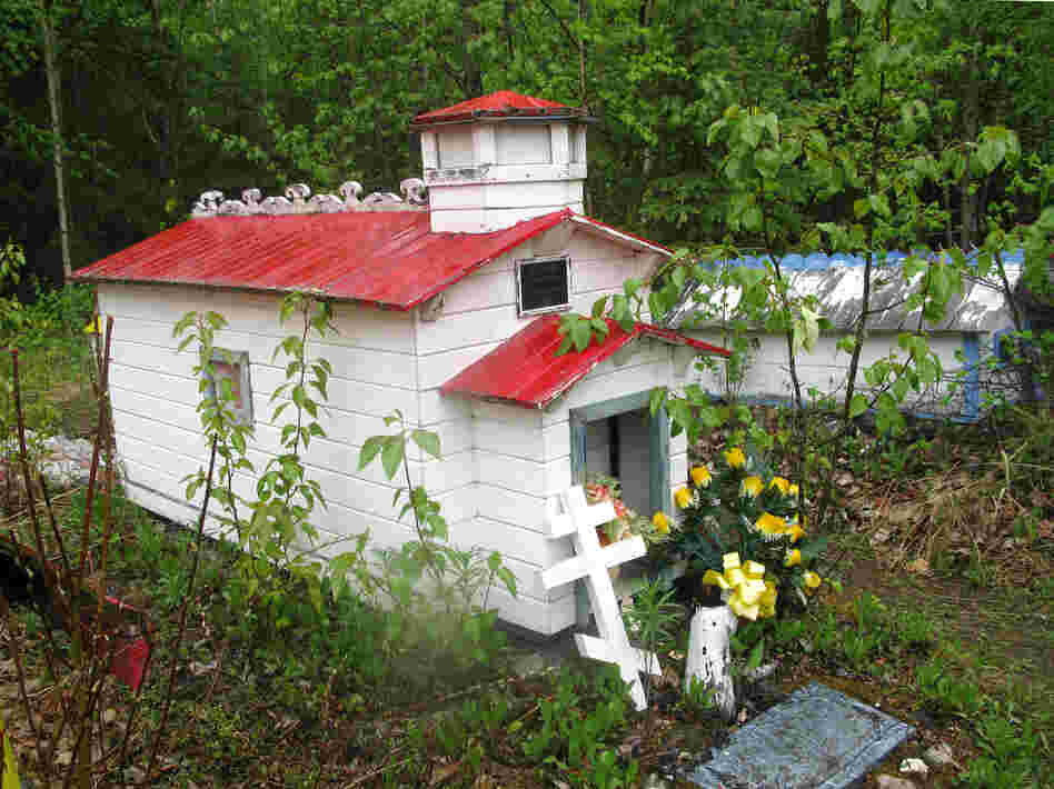 For the Dena'ina people, spirit houses provide a place to shelter the spirits of the dead, and to store their prized possessions.