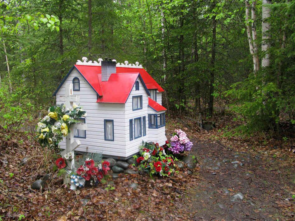 The spirit house for Marie Rosenberg,