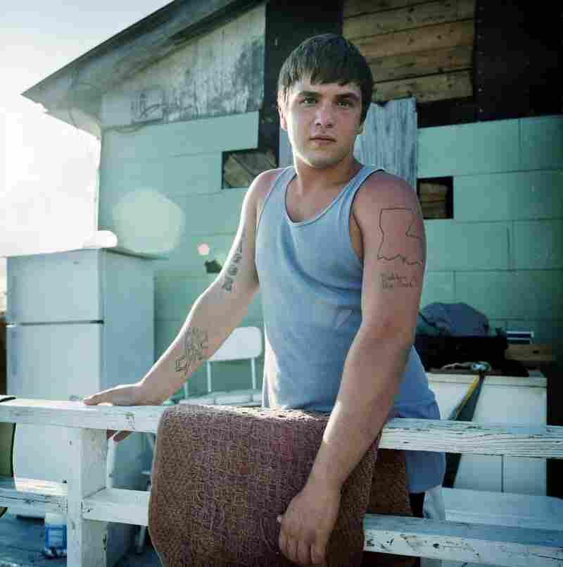 Jacob Walker's Tattoo, Isle de Jean Charles, Louisiana, 2008