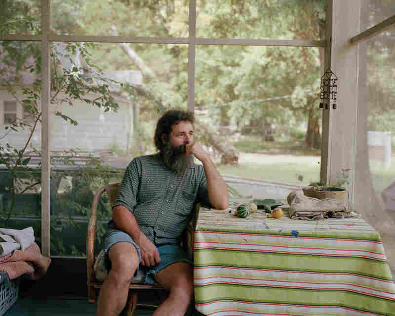Bill on his Porch, 2010