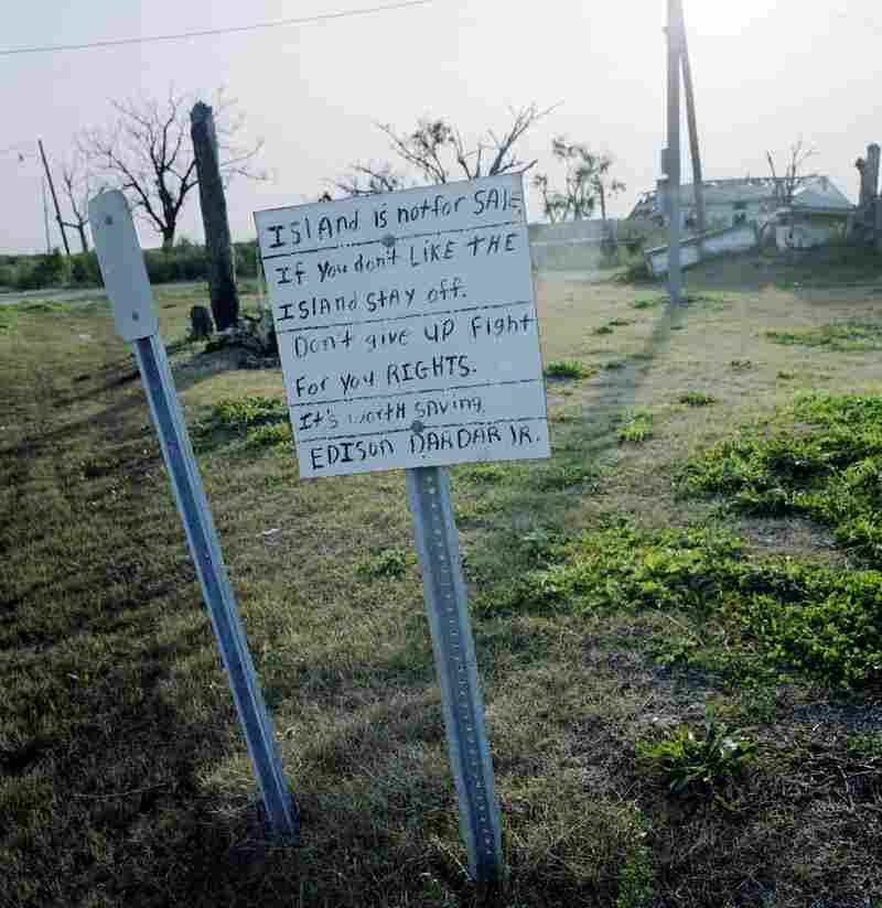 The Entrance to Isle de Jean Charles, Louisiana, 2009
