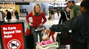 Children going through airport security are being treated just a bit more like children thanks to new TSA rules.