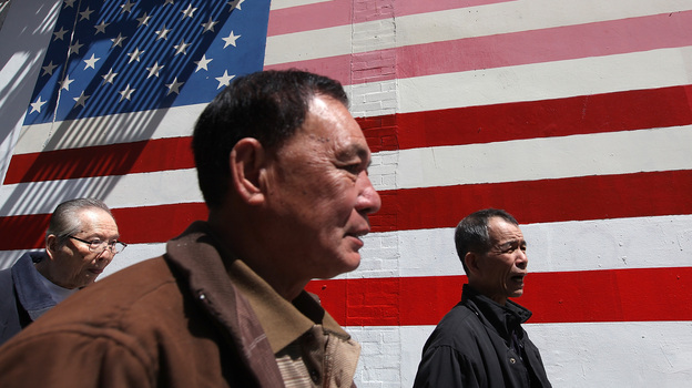A Pew Research Center study shows Asian-Americans are the fastest-growing immigrant group in the U.S., but that doesn't make theirs a success story. (Getty Images)