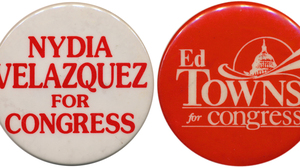 Velazquez faces a competitive challenge in Tuesday's primary; the battle to succeed Towns has ugly overtones.