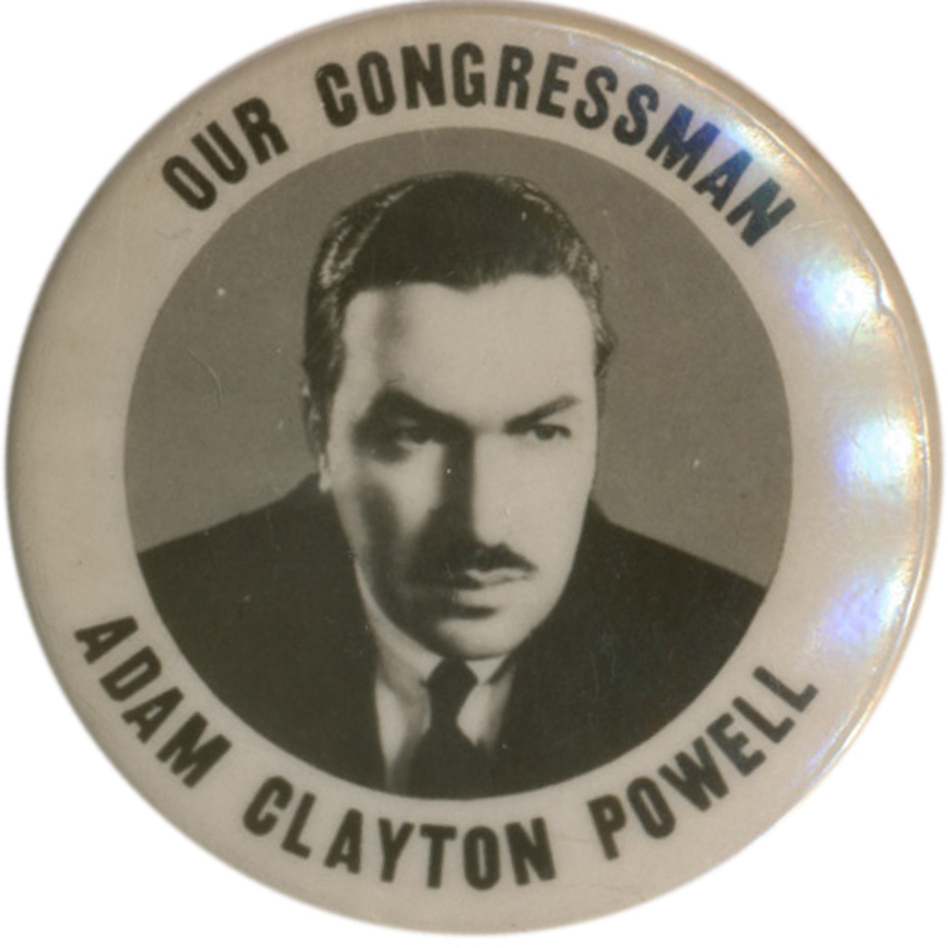 When he faced Rangel in 1970, Powell had been in Congress for a quarter-century. Now Rangel is hoping to extend on his own 42 years in the House. (Ken Rudin collection)