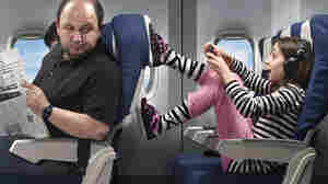 Some parents say the hardest part of flying with young kids on an airplane is dealing with unpredictable kids and adult passengers.