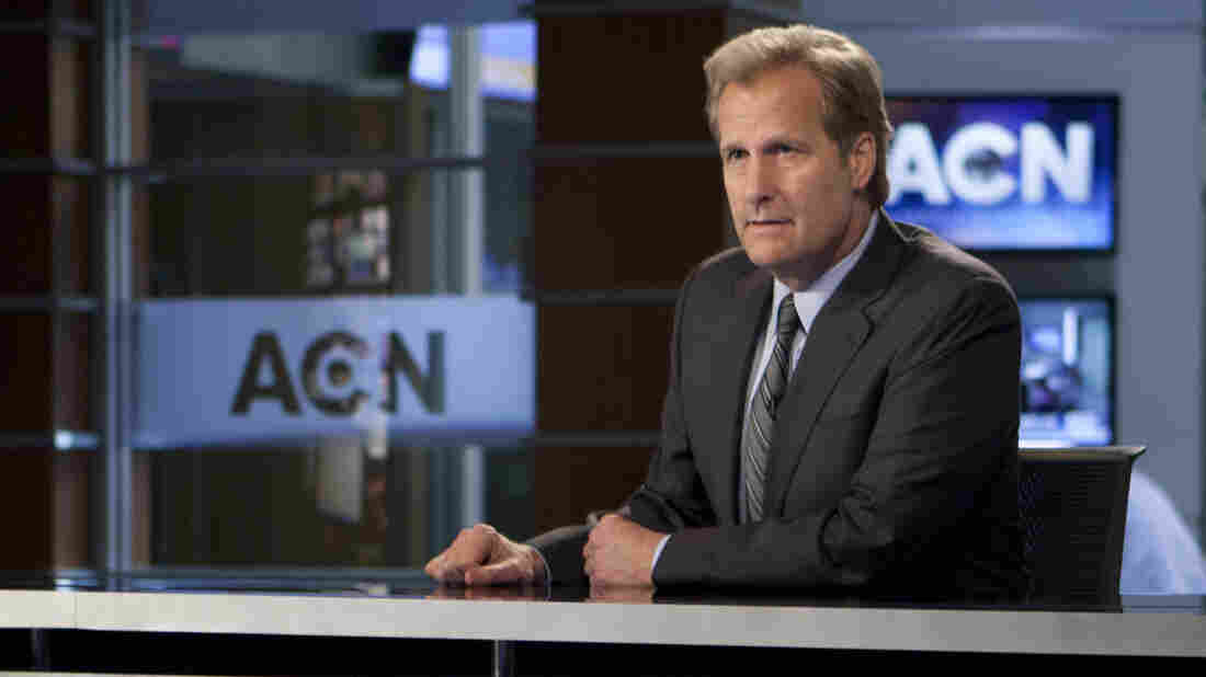 Jeff Daniels stars in HBO's new series, The Newsroom.