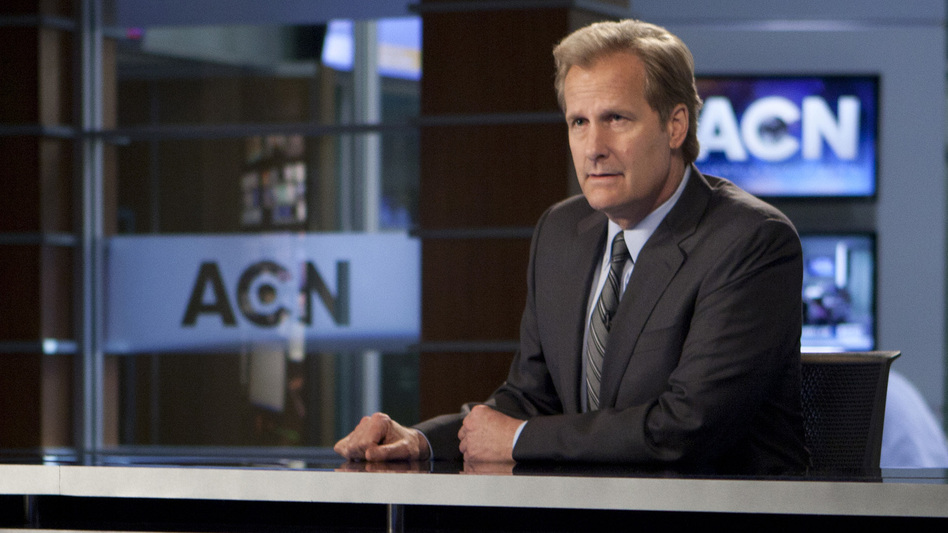 Jeff Daniels stars in HBO's new series, The Newsroom. (HBO)