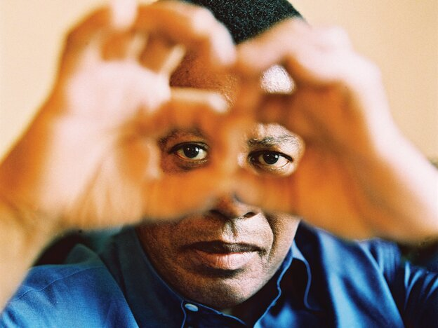 Wayne Shorter's 2003 album Alegria finds the saxophonist and composer matching his quartet with orchestral textures.