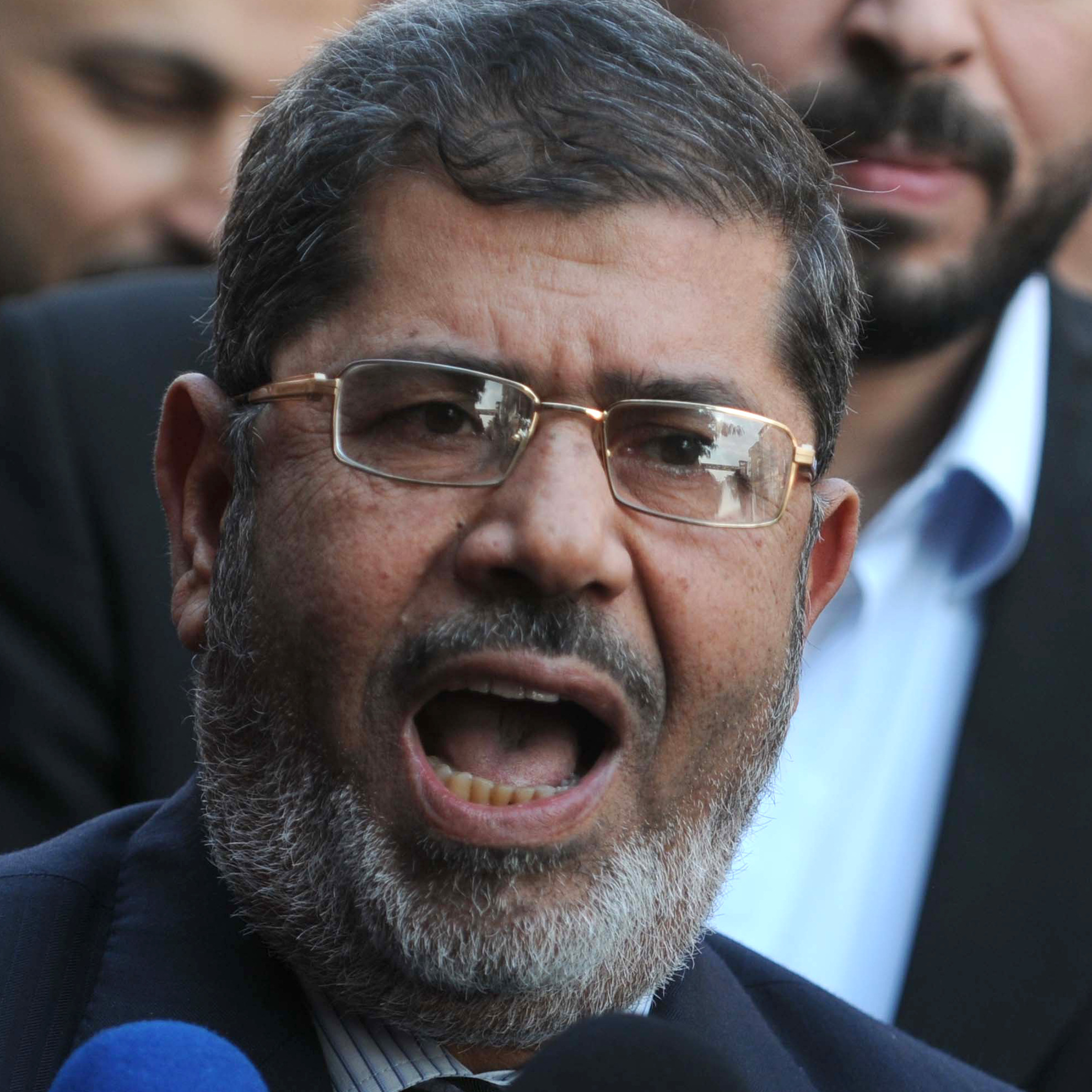Muslim Brotherhood-backed Mohammed Morsi is Egypt's new president, the country's electoral commission announced on Sunday.