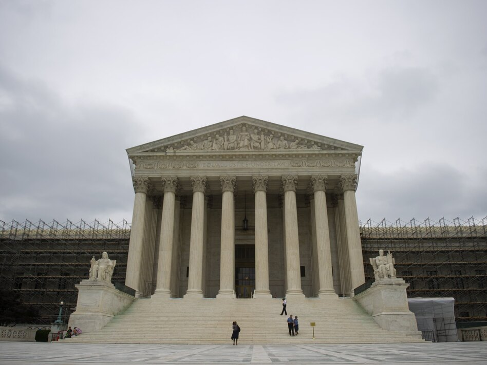 Waiting for word: The U.S. Supreme Court building. (Saul Loeb/AFP/Getty Images)