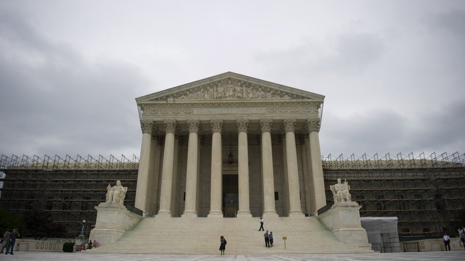Waiting for word: The U.S. Supreme Court building. (AFP/Getty Images)