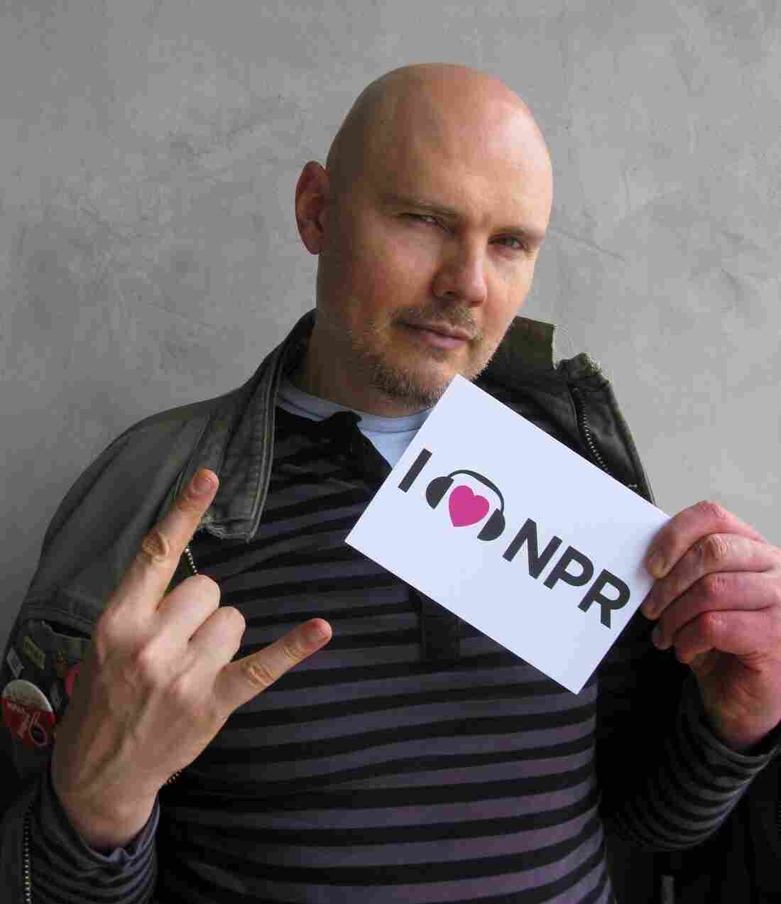 Billy Corgan at NPR West.