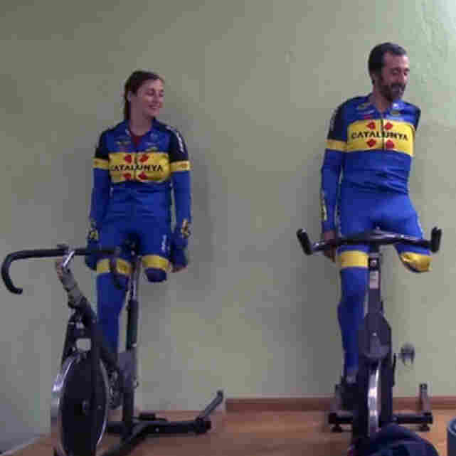 Paralympic Cyclists Inspire Each Other, And A Documentary