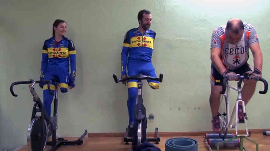 Paralympic cyclists are featured in the upcoming documentary Unstoppables.