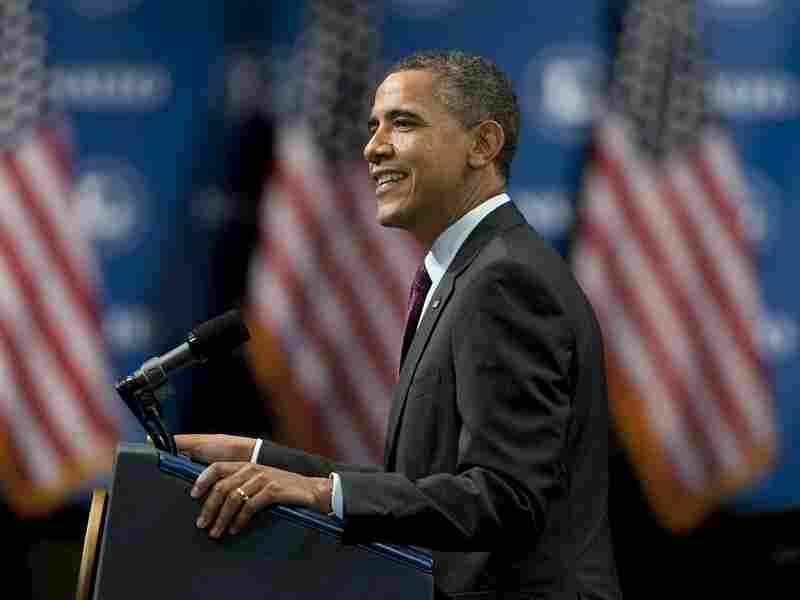President Barack Obama addresses the audience at the 29th annual NALEO conference on June 22 in Lake Buena Vista, Florida. With just over five months until election day, many Obama supporters are worried he won't have enough money to combat a barrage of conservative ads and attacks from his well-financed opponent.