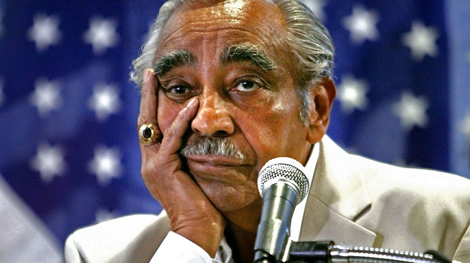 Rep. Charles Rangel listens during a news conference in August 2010 at his Harlem office in New York. (AP)