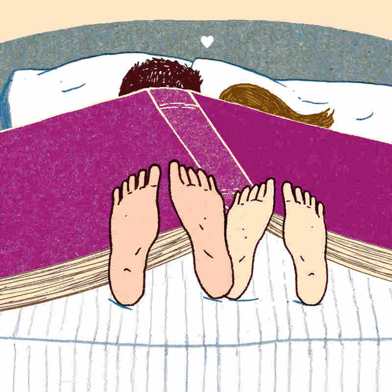 Reading Romance Between (And Under) The Covers