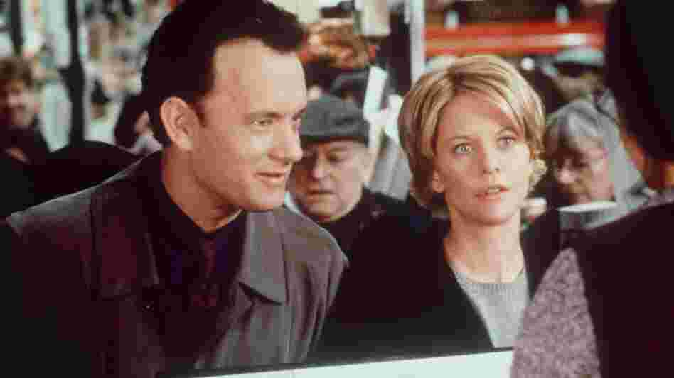 Tom Hanks and Meg Ryan in a scene from You've Got Mail.