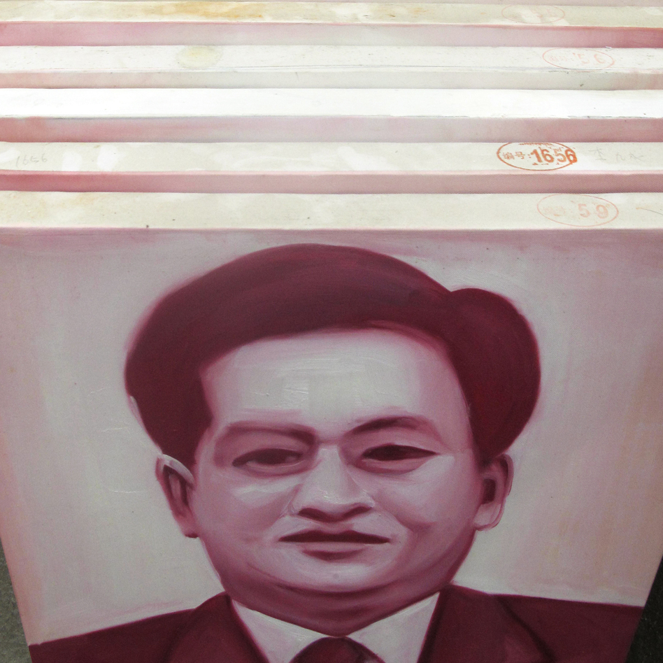 Zhang has already commissioned 1,600 portraits of corrupt officials. They are painted by different artists in southern China. (NPR)