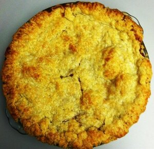 Bubbe Pavone's Honey Caramel Peach Pie