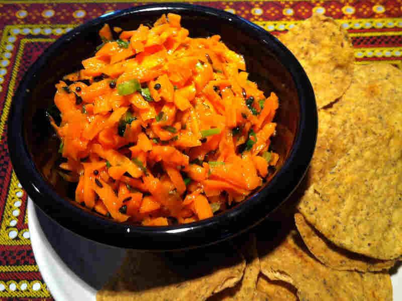 Tangy Carrot Slaw