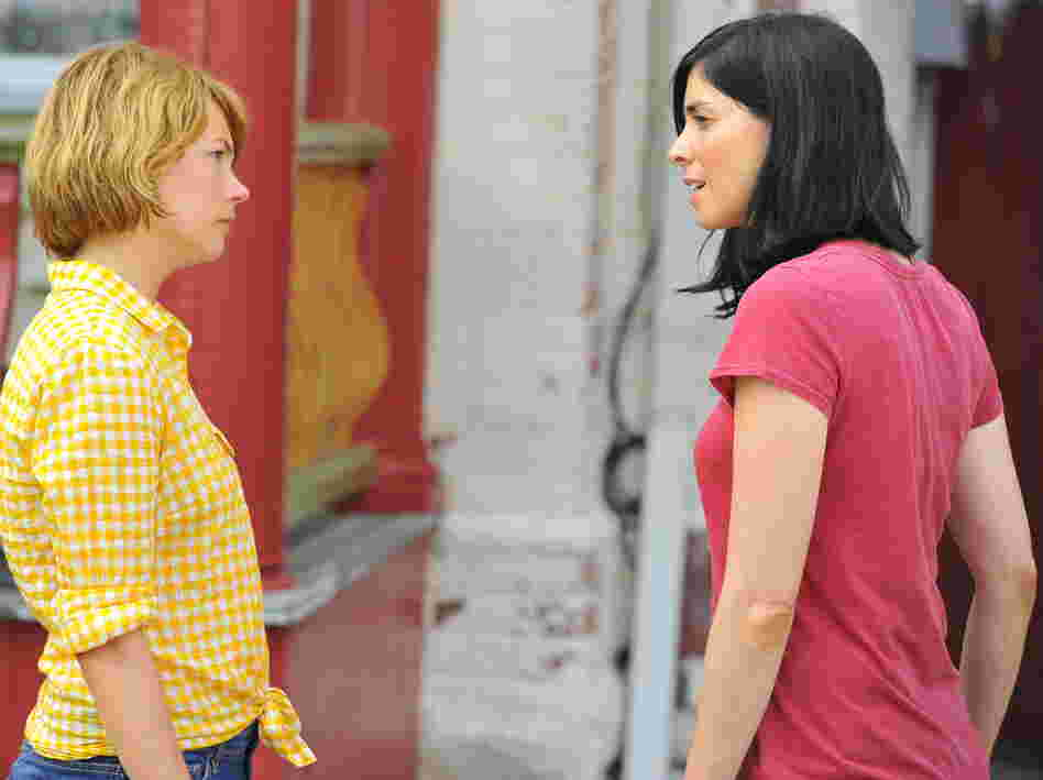 Sarah Silverman plays Lou's sister, a recovering alcoholic who is close with Margot and knows a bit about life's disappointments.