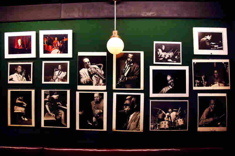 Musicians think they've made it when they've headlined at the Vanguard, but true success is earning a permanent place on the wall.