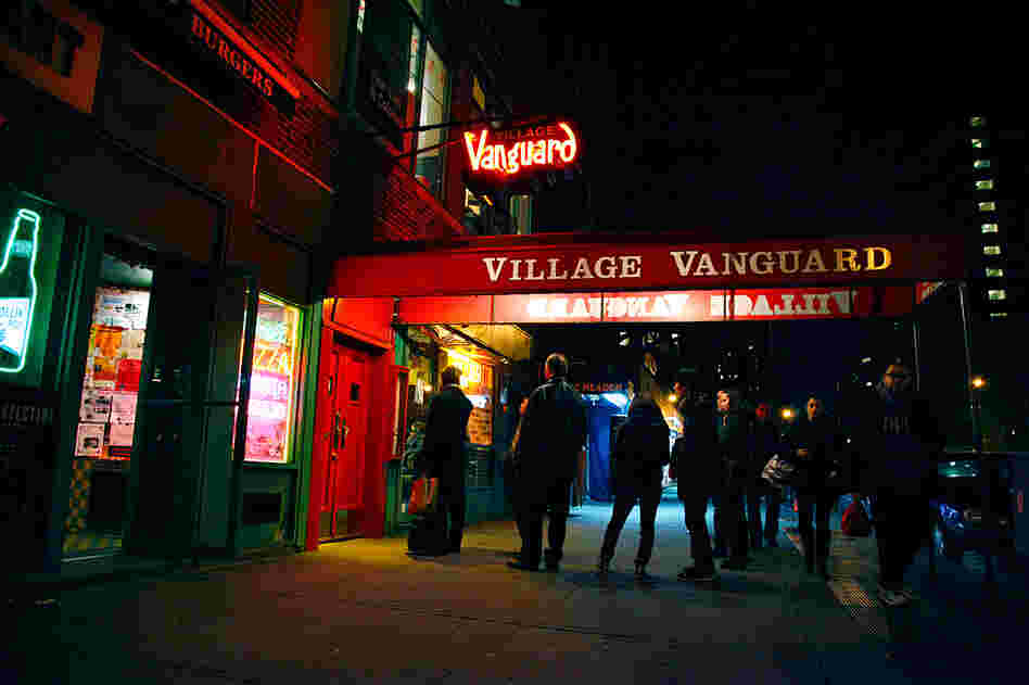 The Village Vanguard's awning and sign have become iconic among jazz aficionados.
