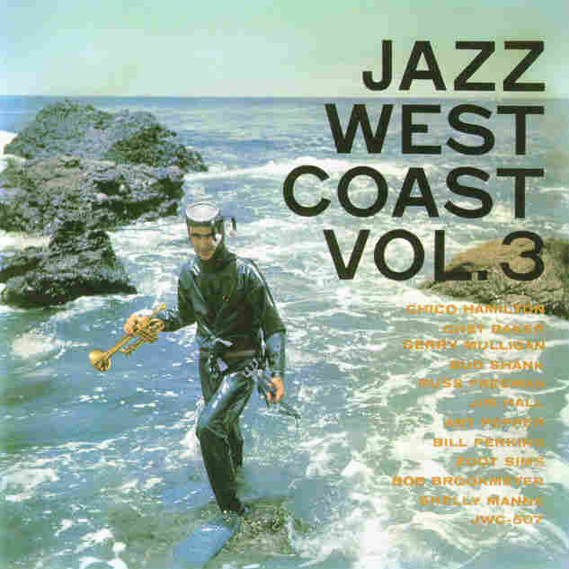 Cover art to the compilation Jazz West Coast Vol. 3.