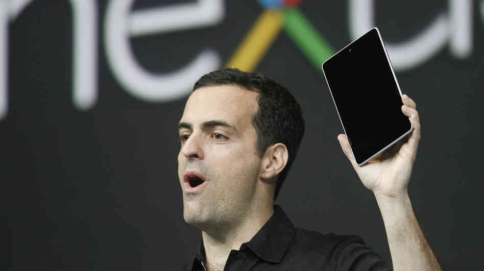 Hugo Barra, product management director of Android, in