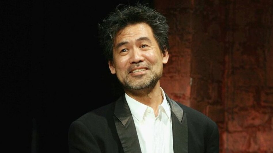 In plays like <em>FOB</em>, <em>M. Butterfly </em>and <em>Chinglish</em>, David Henry Hwang, seen here at a 2006 gala, touches on the obstacles that can stand between immigrants and the American dream.