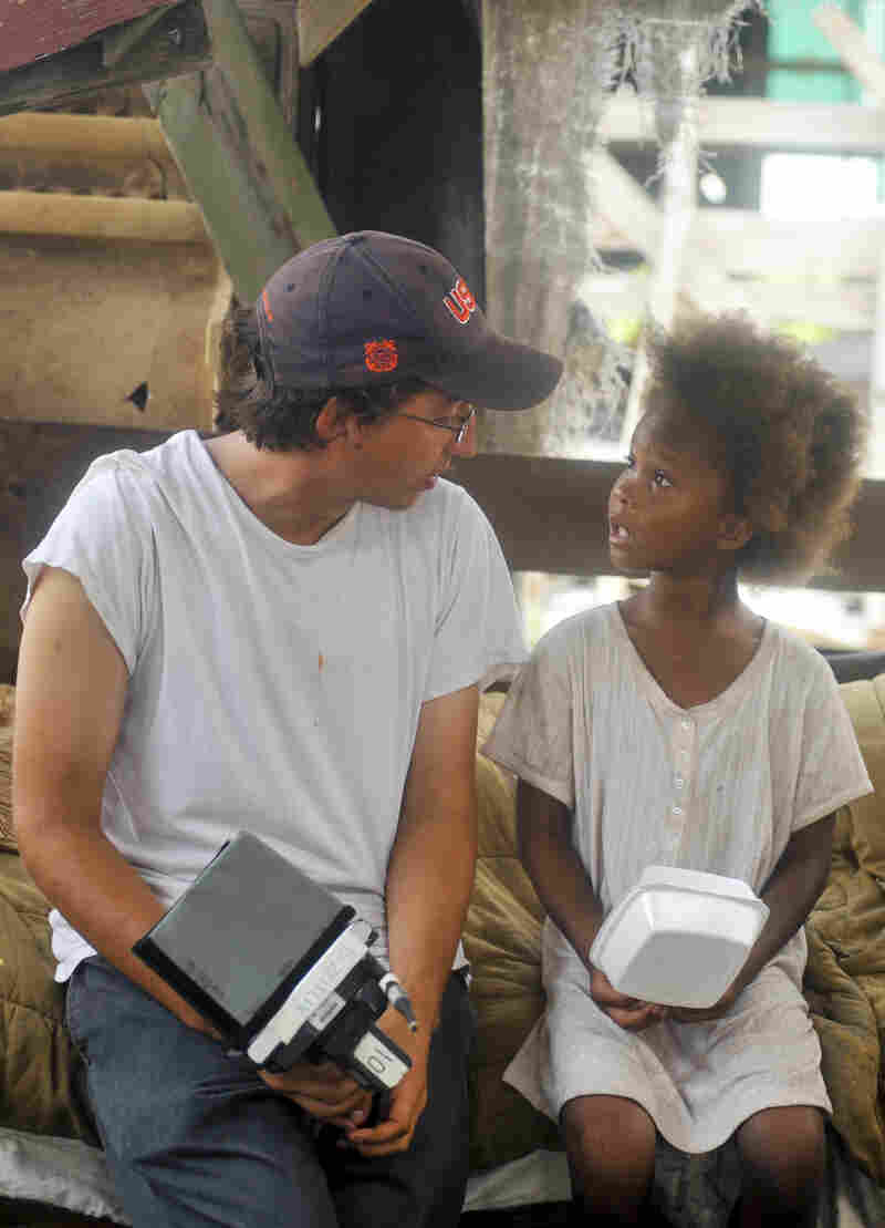 "Director Benh Zeitlin says Beasts of the Southern Wild was a collaborative effort, with then-6-year-old actress Quvenzhane Wallis contributing lines like, ""When you're small, you gotta fix what you can."""