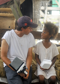 Director Benh Zeitlin says <em>Beasts of the Southern Wild</em> was a collaborative effort, with then-6-year-old actress Quvenzhane Wallis contributing lines like,