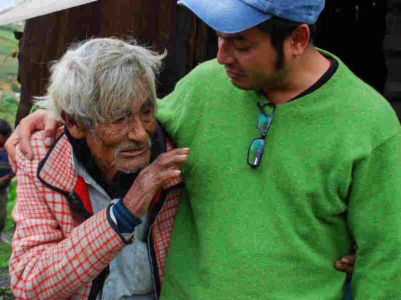 Don Telesforo with Ruben Luengas.
