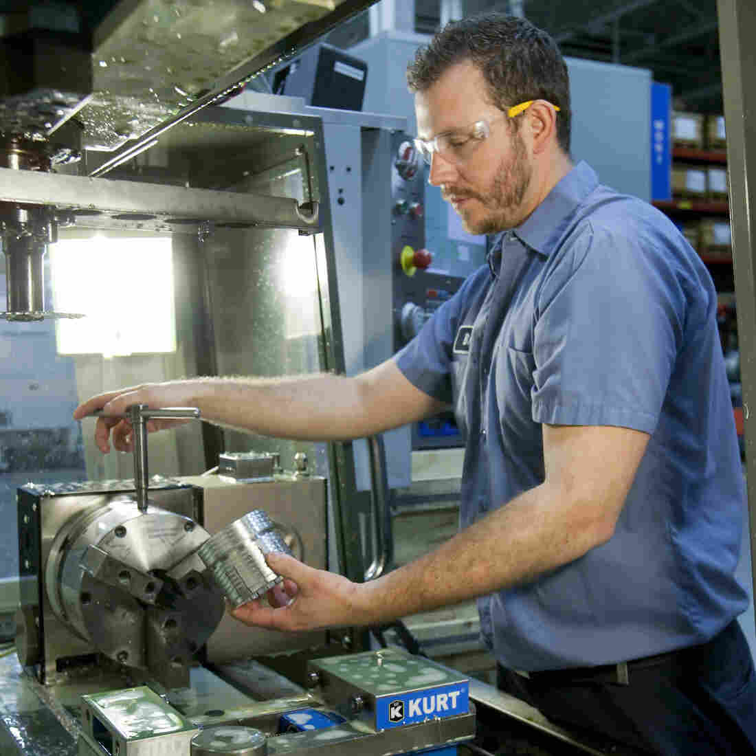 For Manufacturing Jobs, Workers Brush Up On Math